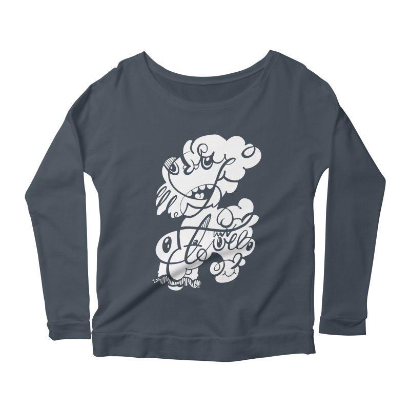 The Doodle Family Women's Scoop Neck Longsleeve T-Shirt by Favati