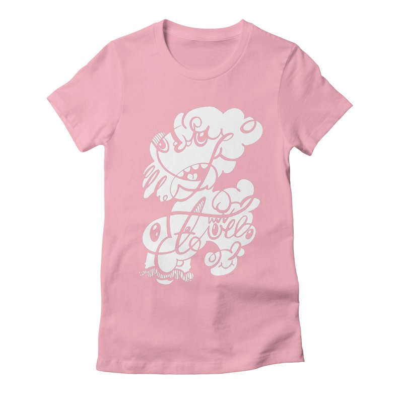 The Doodle Family Women's Fitted T-Shirt by Favati