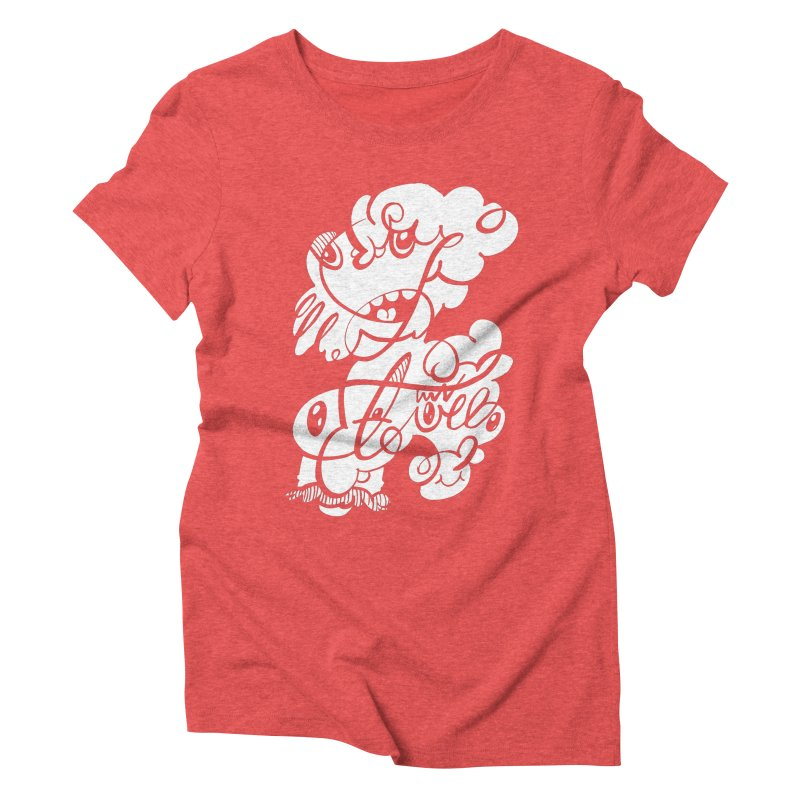 The Doodle Family Women's Triblend T-Shirt by Favati