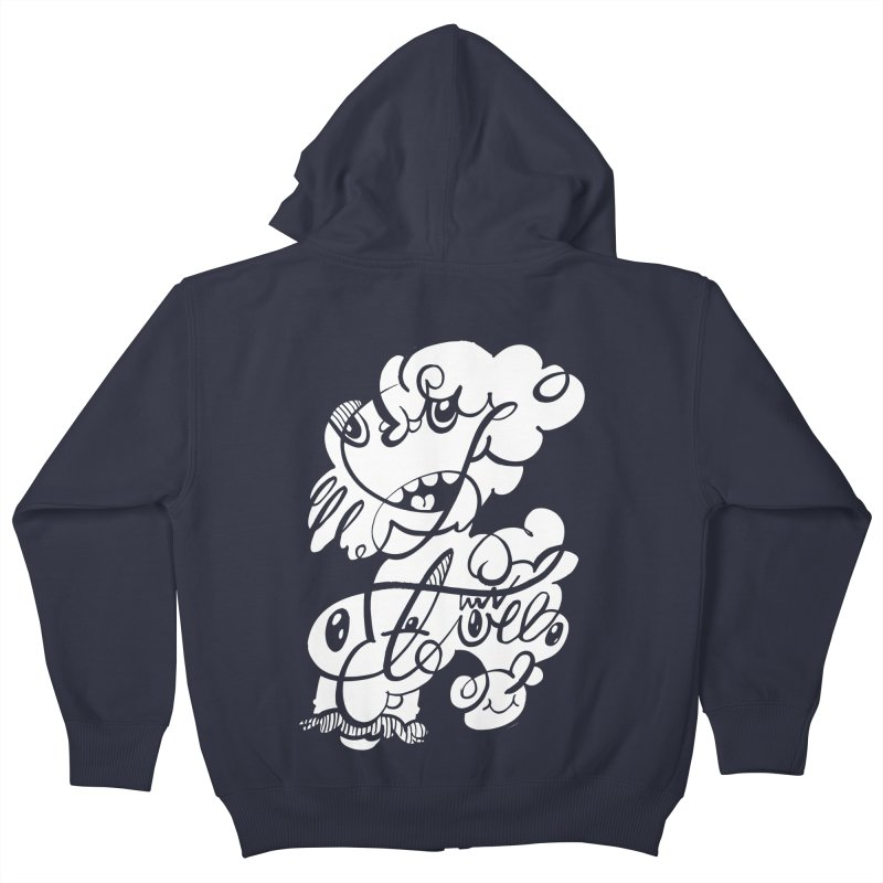 The Doodle Family Kids Zip-Up Hoody by Favati