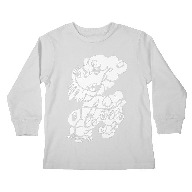 The Doodle Family Kids Longsleeve T-Shirt by Favati