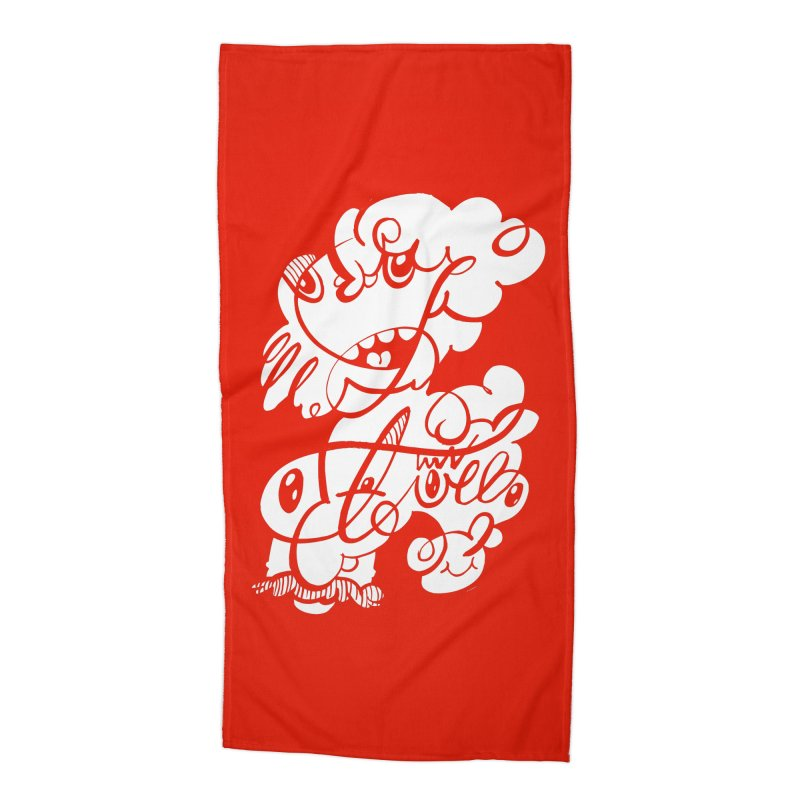 The Doodle Family Accessories Beach Towel by Favati