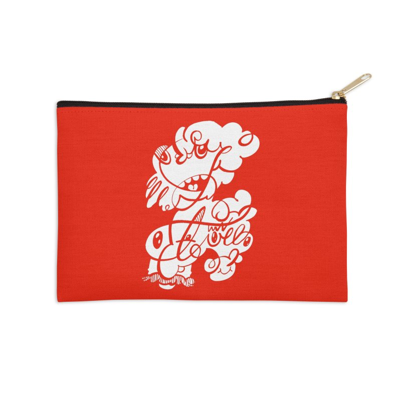 The Doodle Family Accessories Zip Pouch by Favati