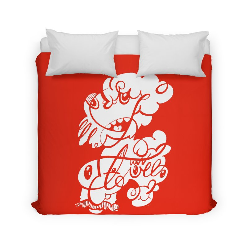 The Doodle Family Home Duvet by Favati