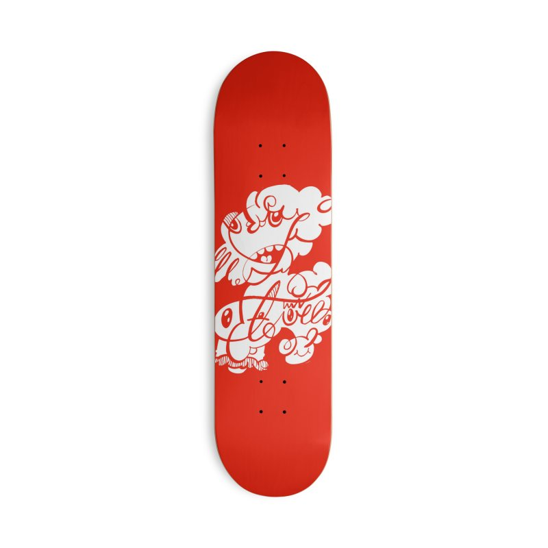 The Doodle Family Accessories Skateboard by Favati