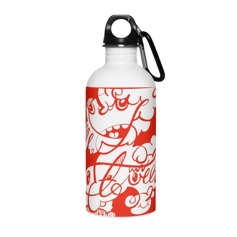 The Doodle Family Accessories Water Bottle by Favati