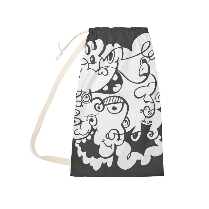 Doodle of the day IV Accessories Laundry Bag Bag by Favati