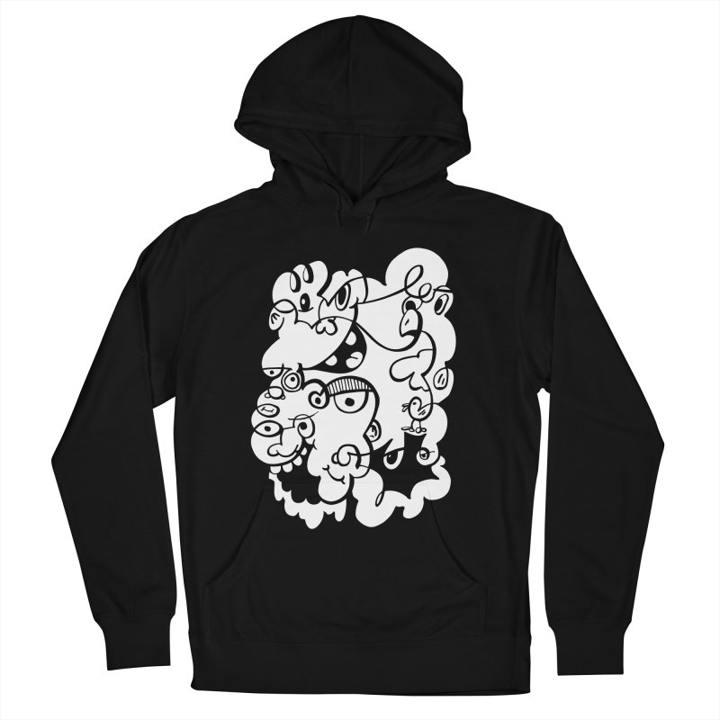 Doodle of the day IV Women's French Terry Pullover Hoody by Favati