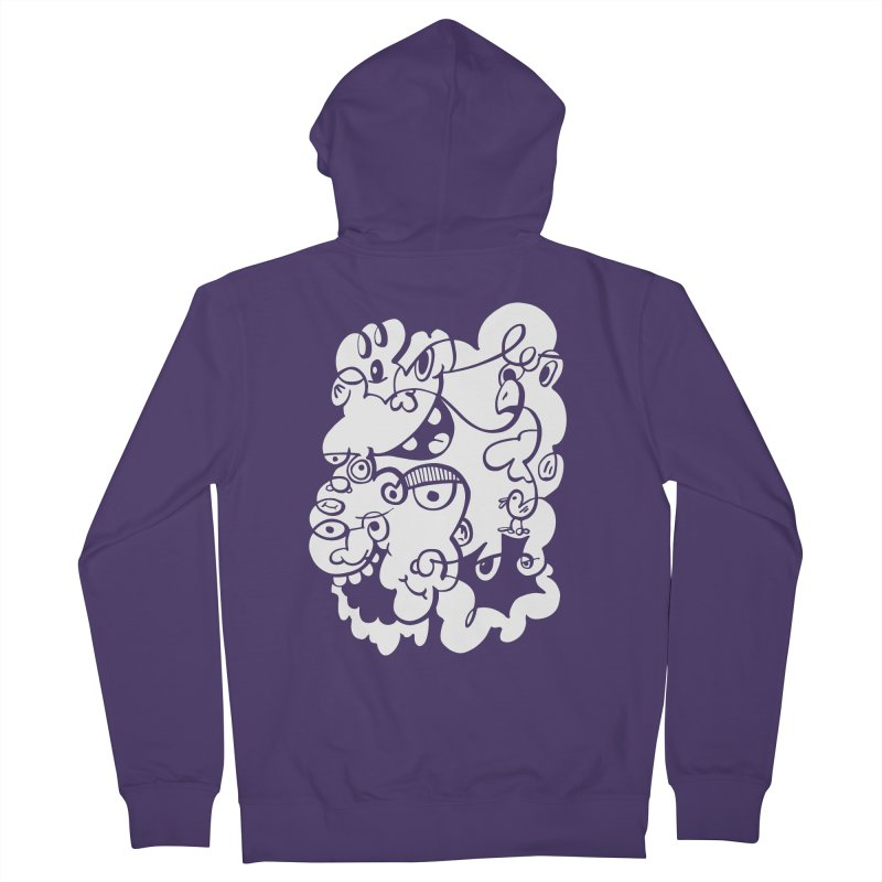 Doodle of the day IV Women's Zip-Up Hoody by Favati