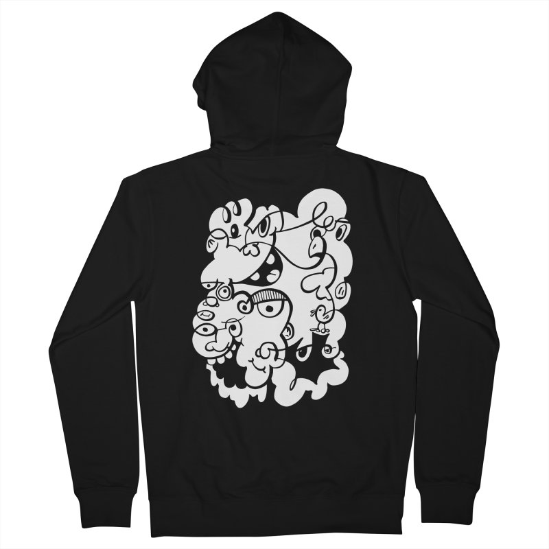 Doodle of the day IV Men's Zip-Up Hoody by Favati