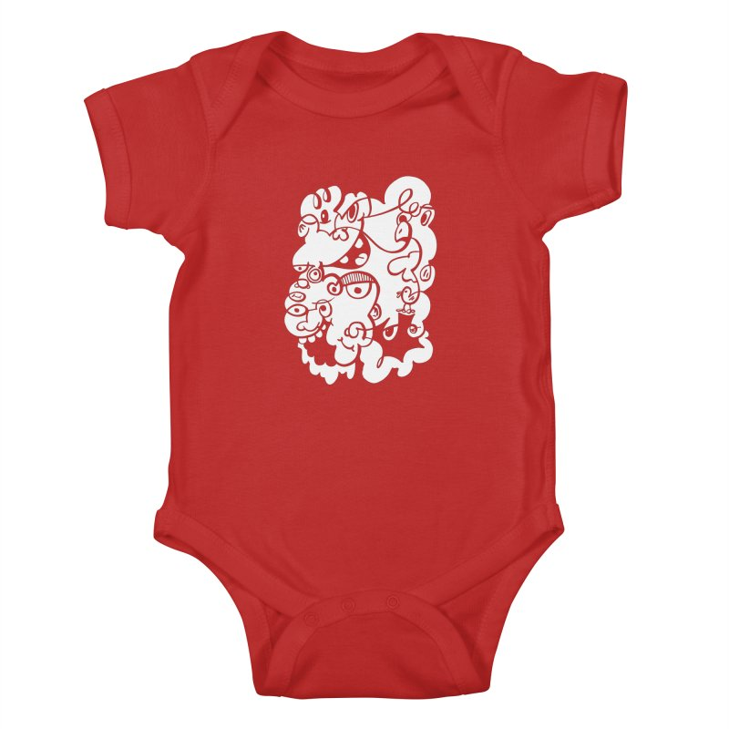 Doodle of the day IV Kids Baby Bodysuit by Favati