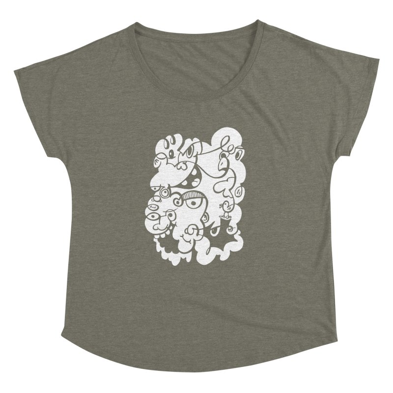 Doodle of the day IV Women's Dolman by Favati