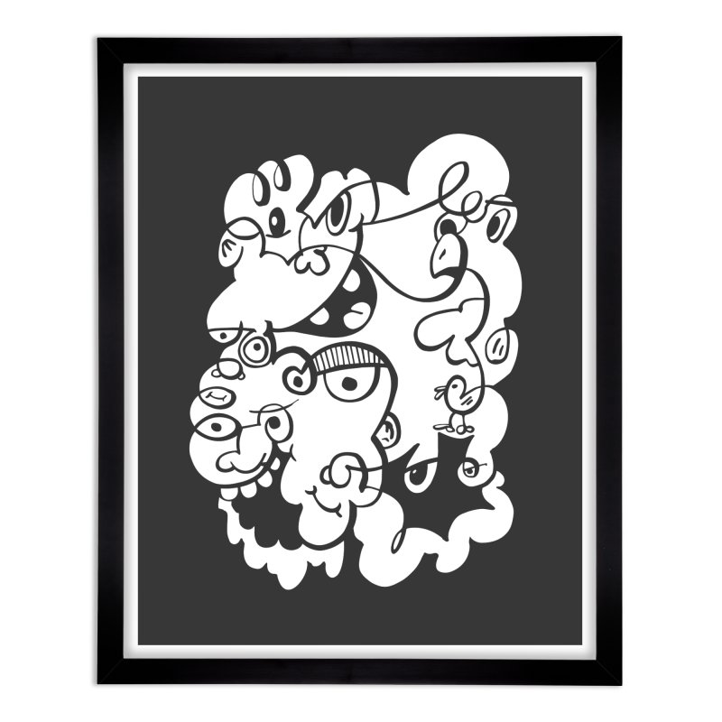 Doodle of the day IV Home Framed Fine Art Print by Favati