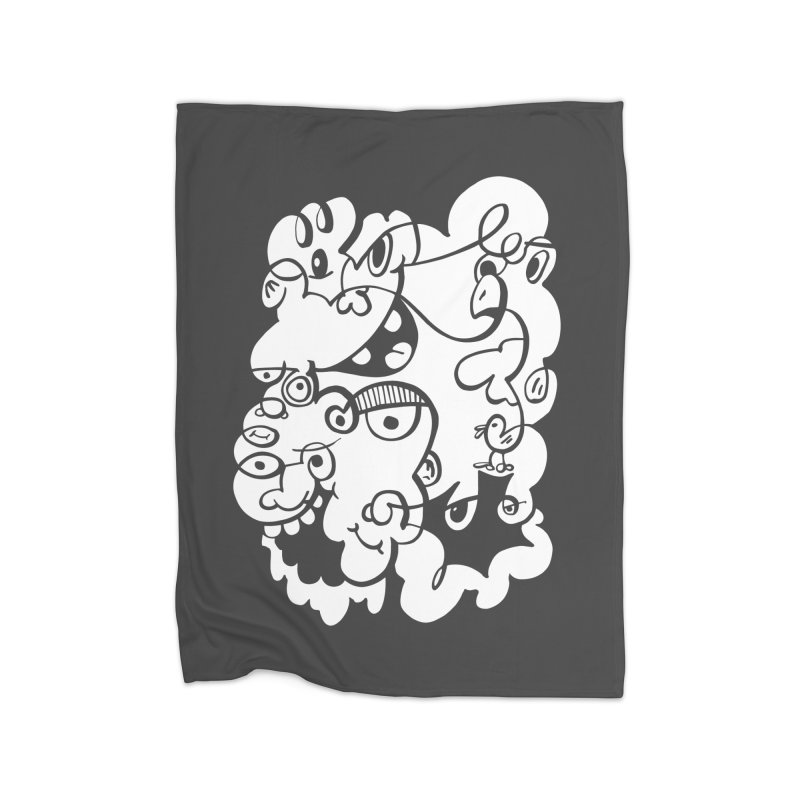 Doodle of the day IV Home Blanket by Favati
