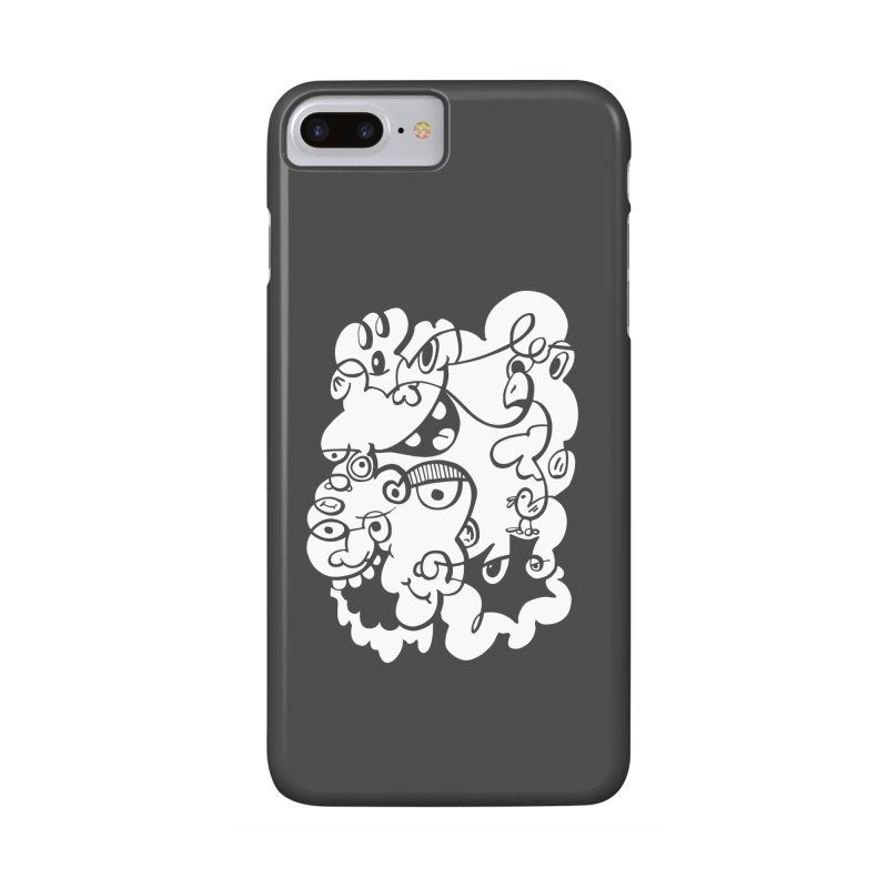 Doodle of the day IV Accessories Phone Case by Favati