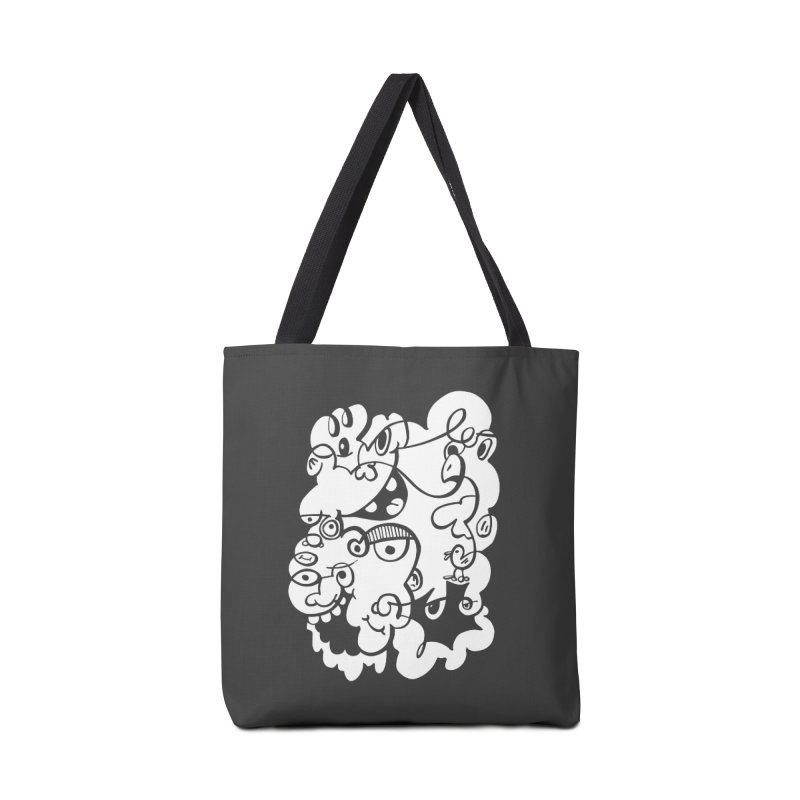 Doodle of the day IV Accessories Bag by Favati