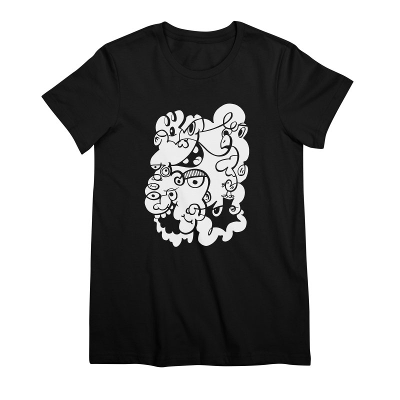 Doodle of the day IV Women's Premium T-Shirt by Favati