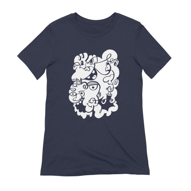 Doodle of the day IV Women's Extra Soft T-Shirt by Favati