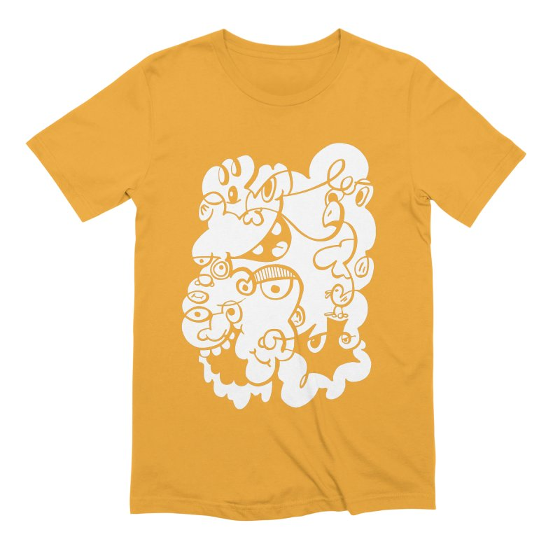 Doodle of the day IV Men's Extra Soft T-Shirt by Favati