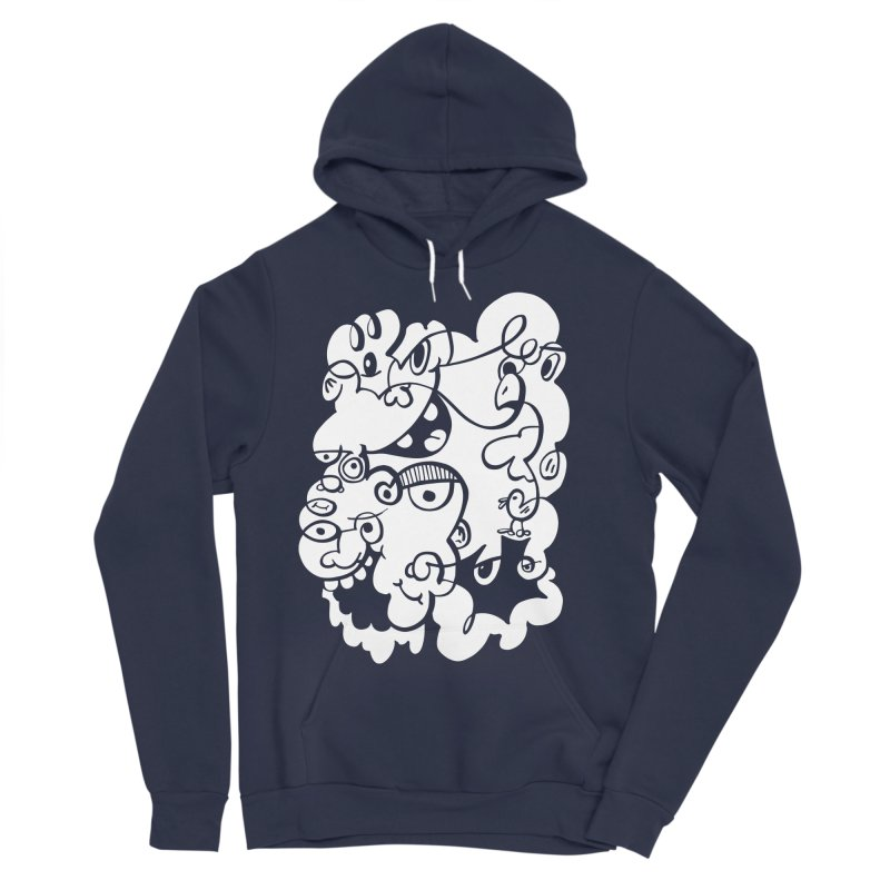 Doodle of the day IV Women's Sponge Fleece Pullover Hoody by Favati