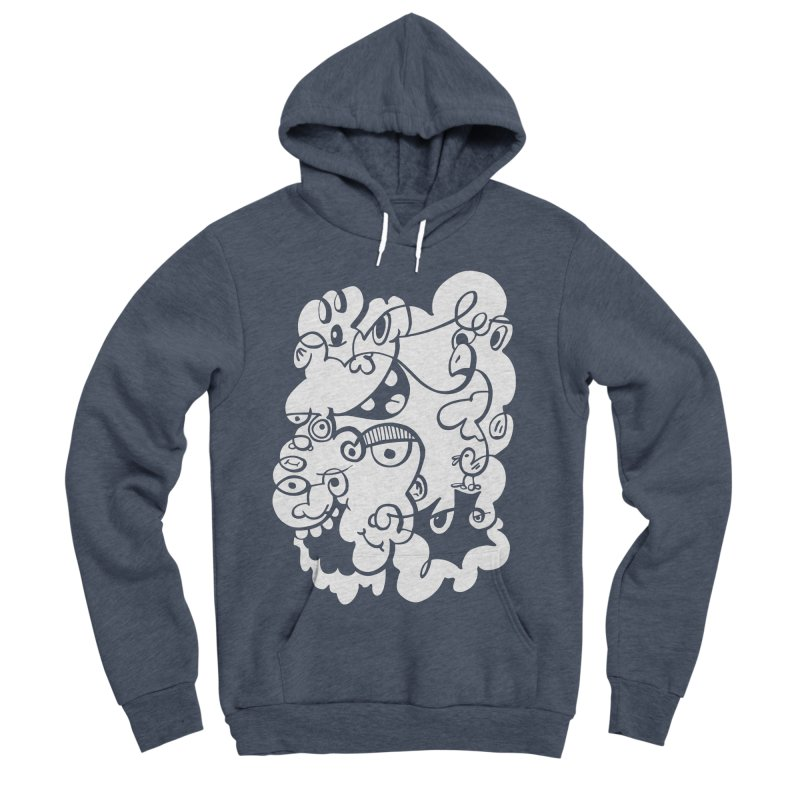 Doodle of the day IV Men's Sponge Fleece Pullover Hoody by Favati