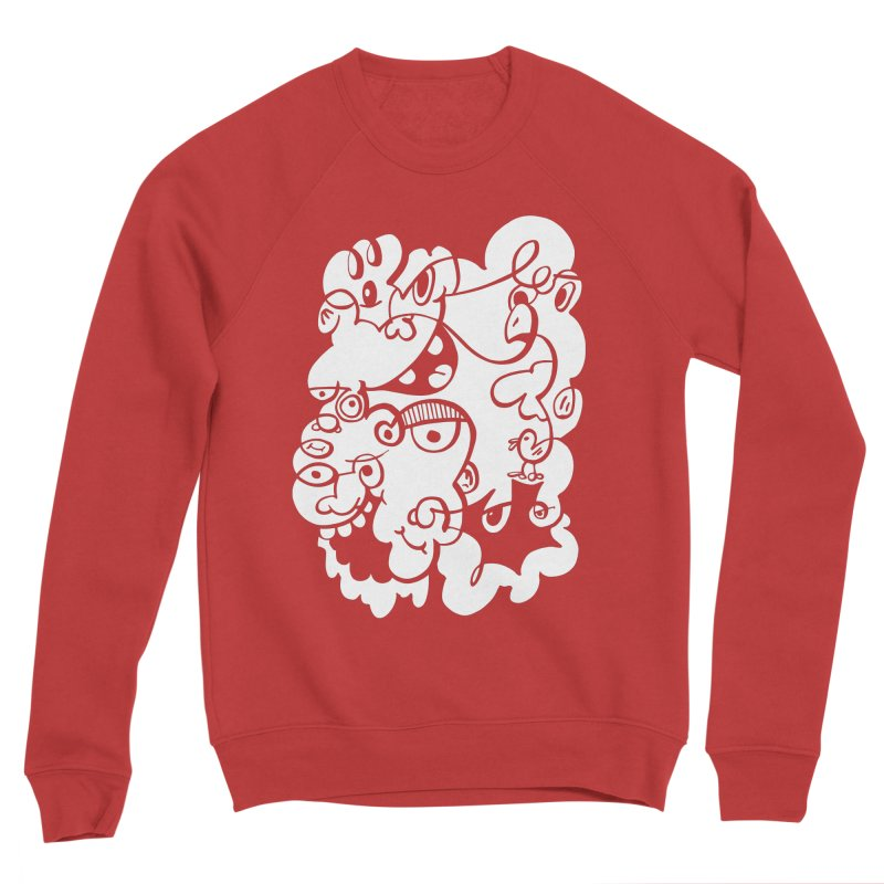 Doodle of the day IV Men's Sponge Fleece Sweatshirt by Favati