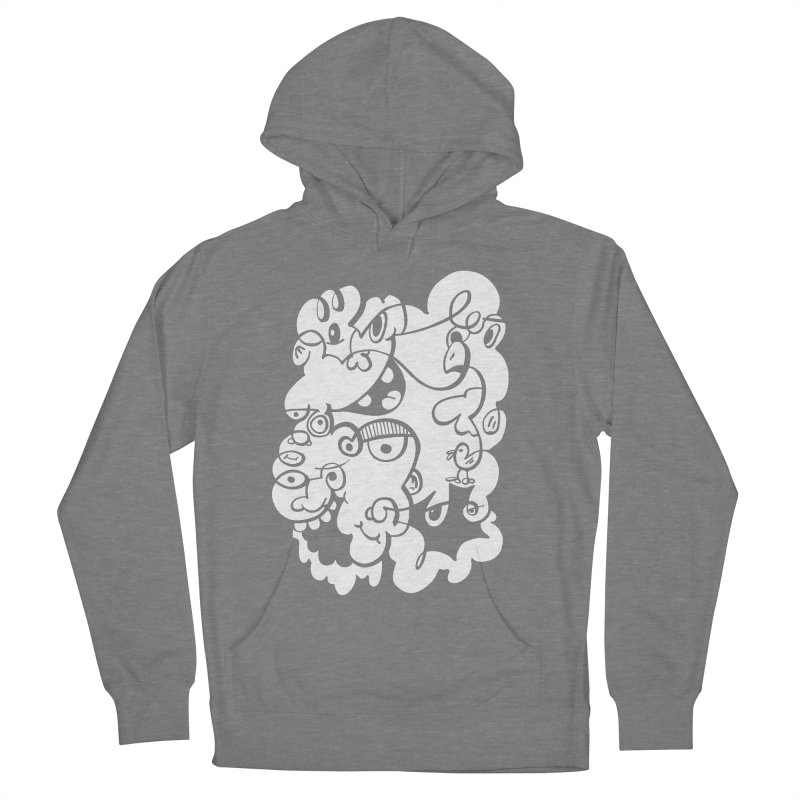 Doodle of the day IV Men's French Terry Pullover Hoody by Favati