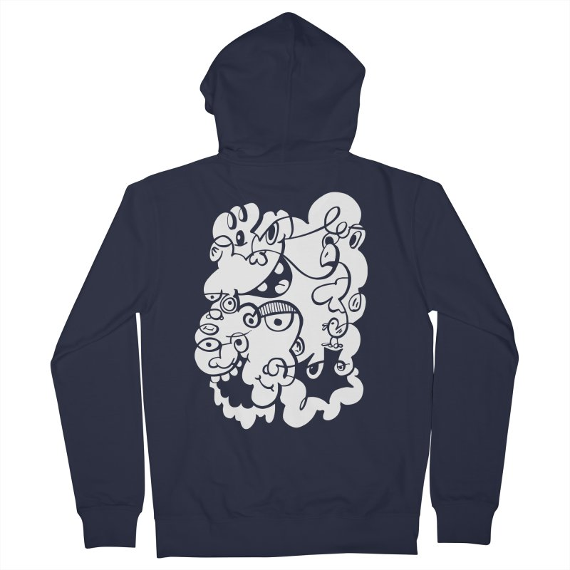 Doodle of the day IV Women's French Terry Zip-Up Hoody by Favati