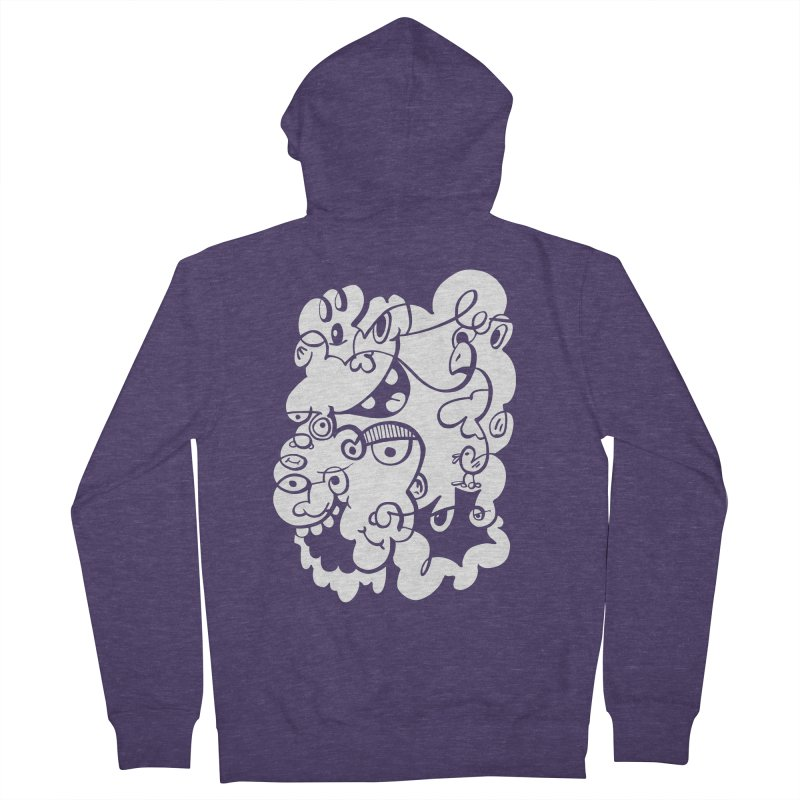 Doodle of the day IV Men's French Terry Zip-Up Hoody by Favati