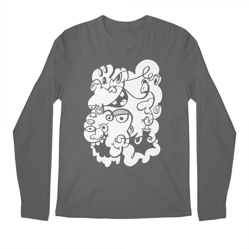 Doodle of the day IV Men's Longsleeve T-Shirt by Favati