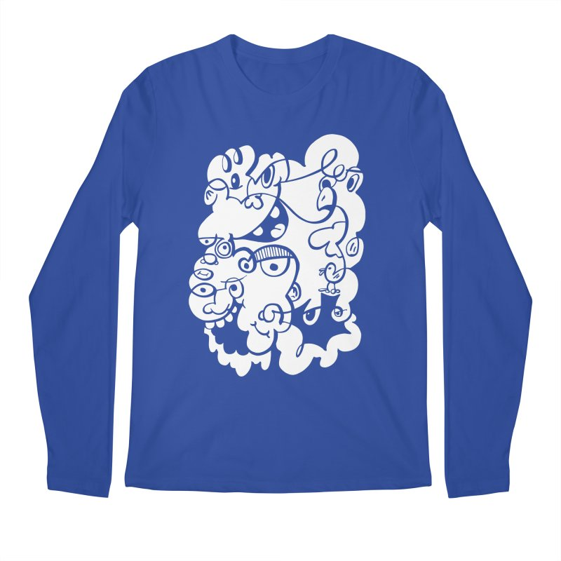 Doodle of the day IV Men's Regular Longsleeve T-Shirt by Favati