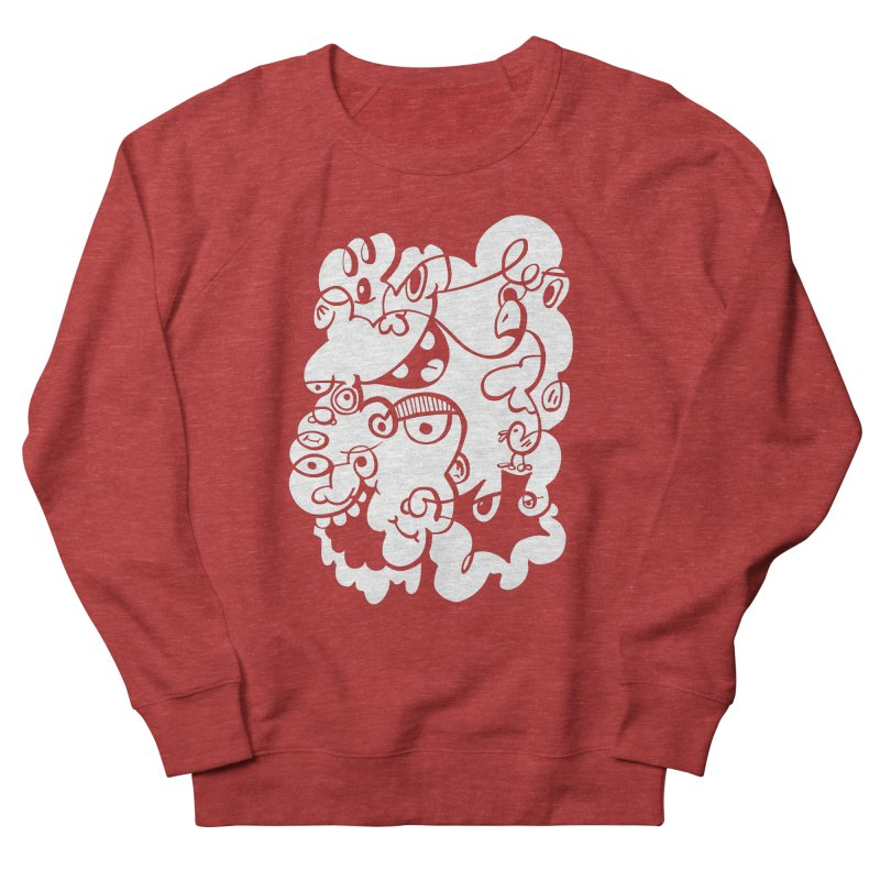 Doodle of the day IV Women's French Terry Sweatshirt by Favati