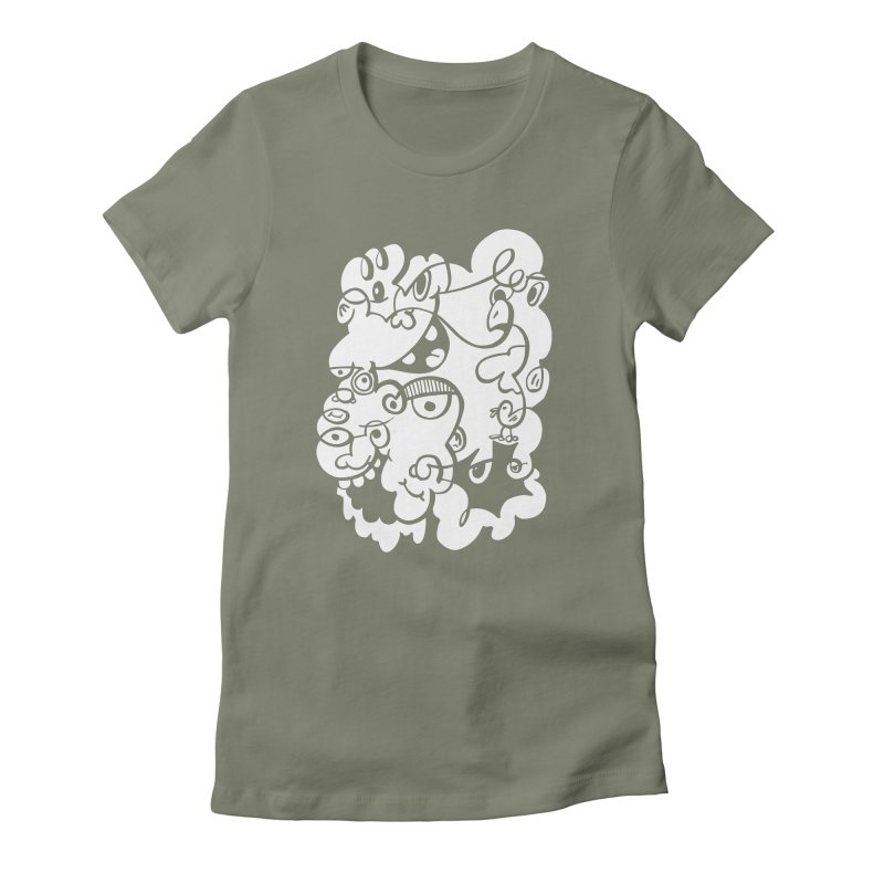 Doodle of the day IV Women's T-Shirt by Favati