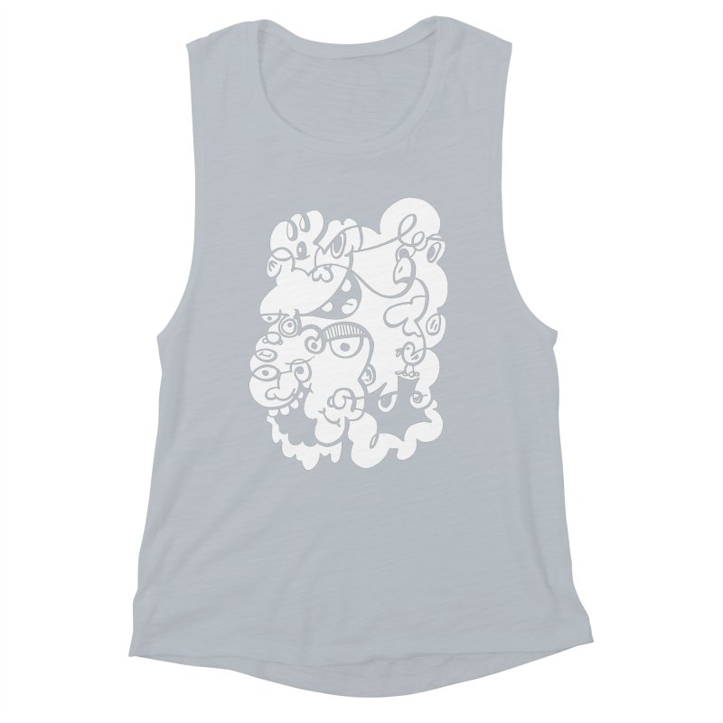 Doodle of the day IV Women's Muscle Tank by Favati
