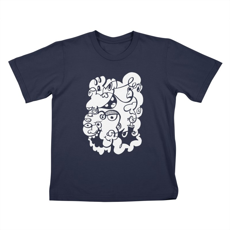 Doodle of the day IV Kids T-Shirt by Favati