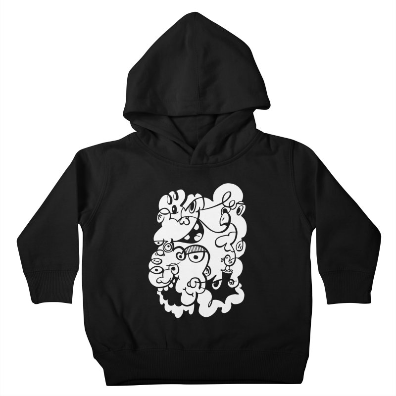 Doodle of the day IV Kids Toddler Pullover Hoody by Favati