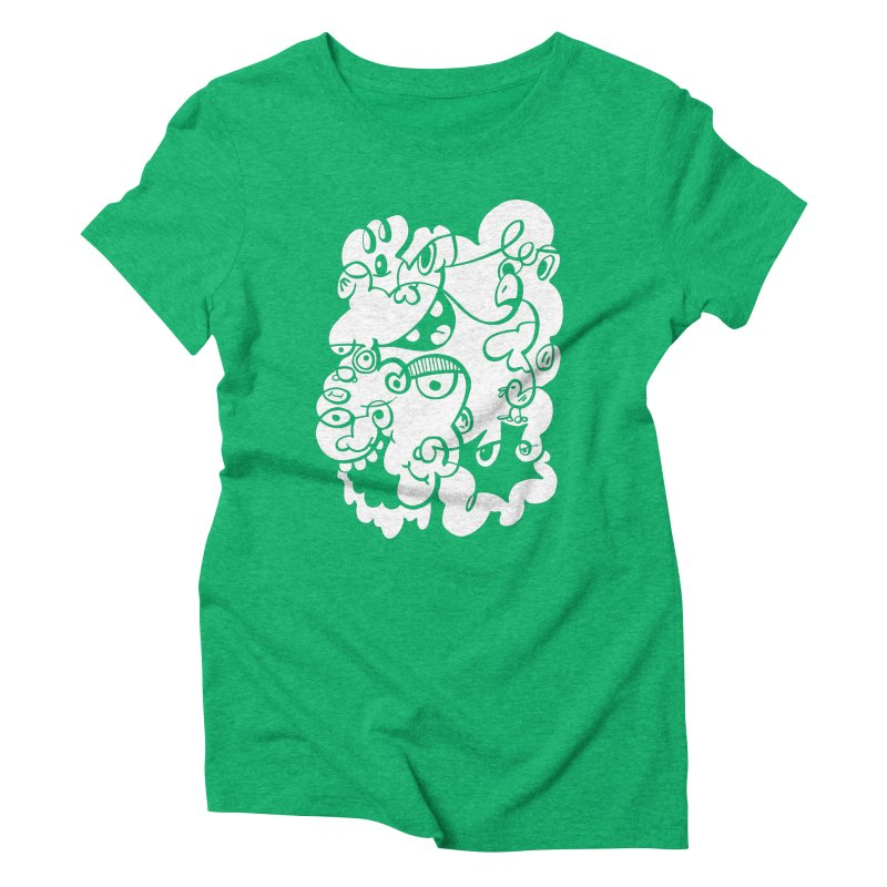 Doodle of the day IV Women's Triblend T-Shirt by Favati