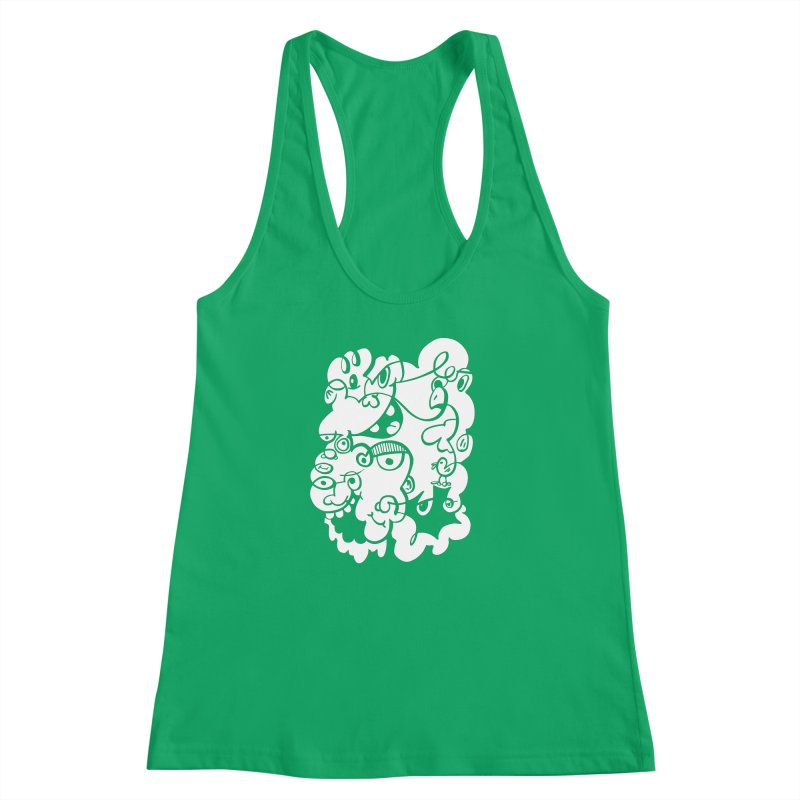 Doodle of the day IV Women's Racerback Tank by Favati