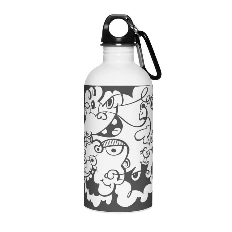 Doodle of the day IV Accessories Water Bottle by Favati