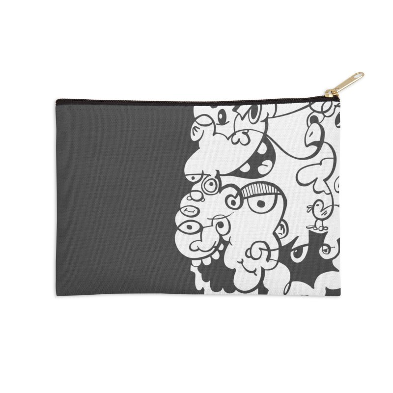 Doodle of the day IV Accessories Zip Pouch by Favati