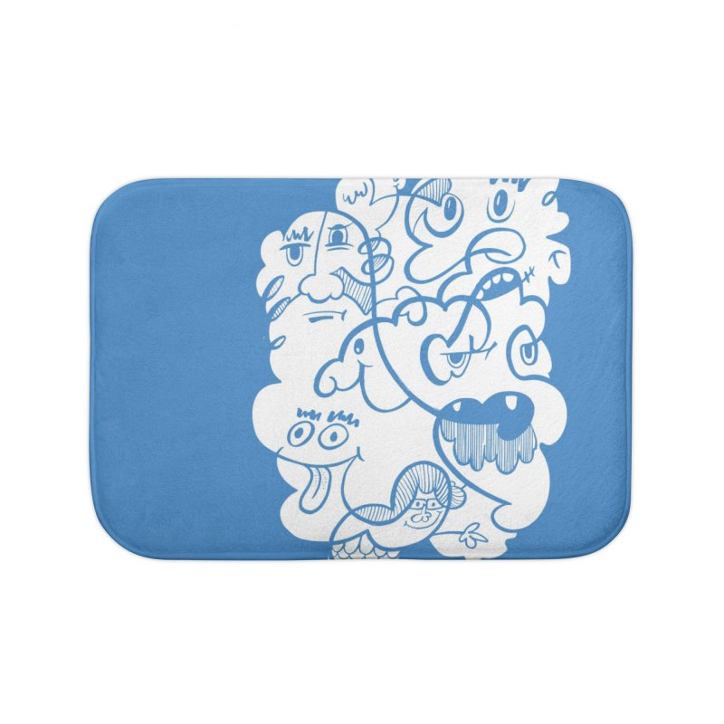 Just another doodle Home Bath Mat by Favati