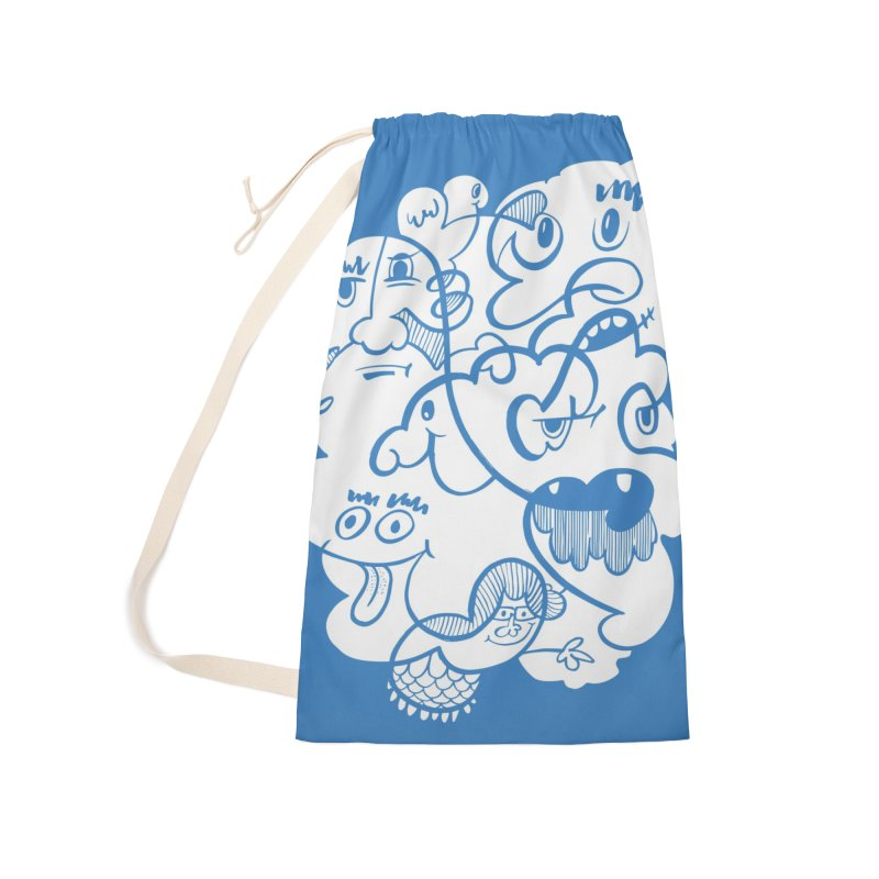 Just another doodle Accessories Laundry Bag Bag by Favati