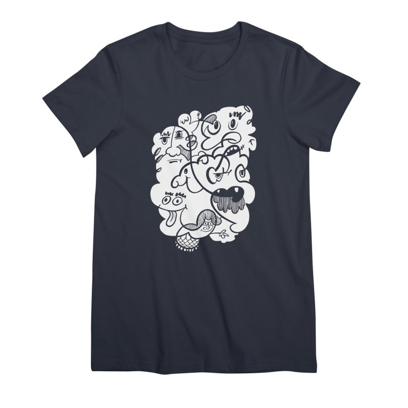 Just another doodle Women's Premium T-Shirt by Favati