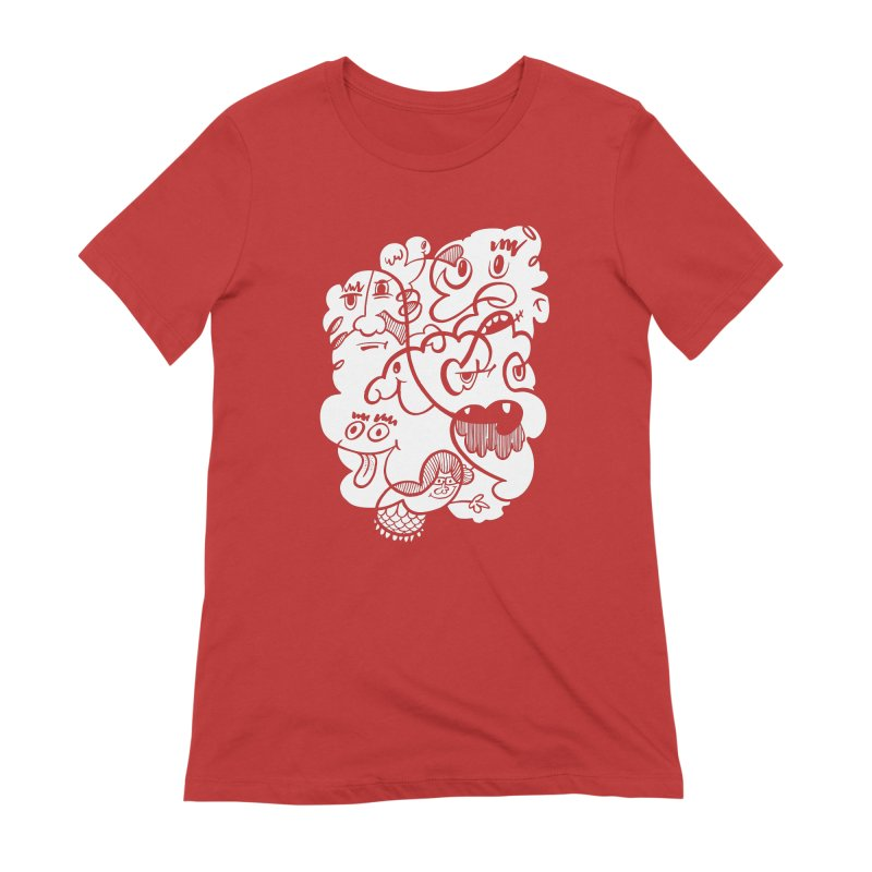 Just another doodle Women's Extra Soft T-Shirt by Favati