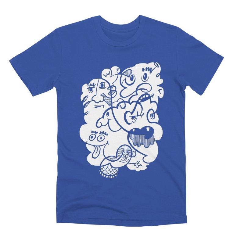 Just another doodle Men's Premium T-Shirt by Favati