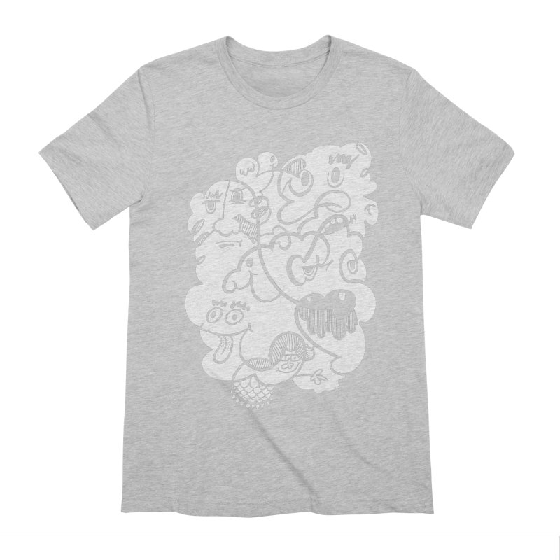 Just another doodle Men's Extra Soft T-Shirt by Favati