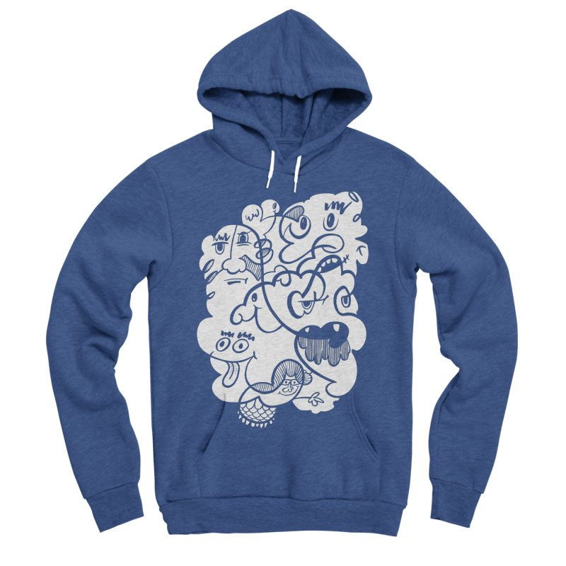 Just another doodle Women's Sponge Fleece Pullover Hoody by Favati