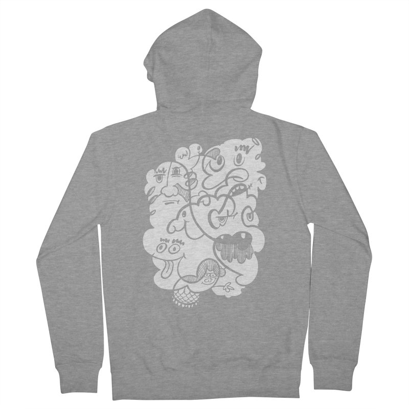 Just another doodle Men's French Terry Zip-Up Hoody by Favati