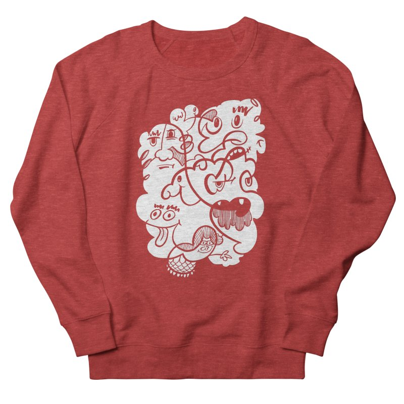 Just another doodle Women's French Terry Sweatshirt by Favati