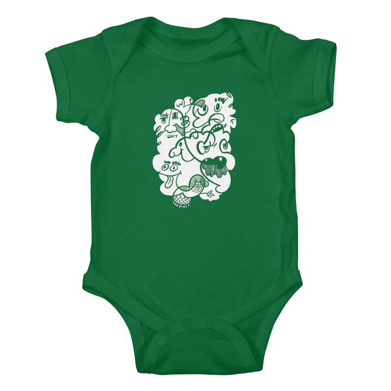 Just another doodle Kids Baby Bodysuit by Favati